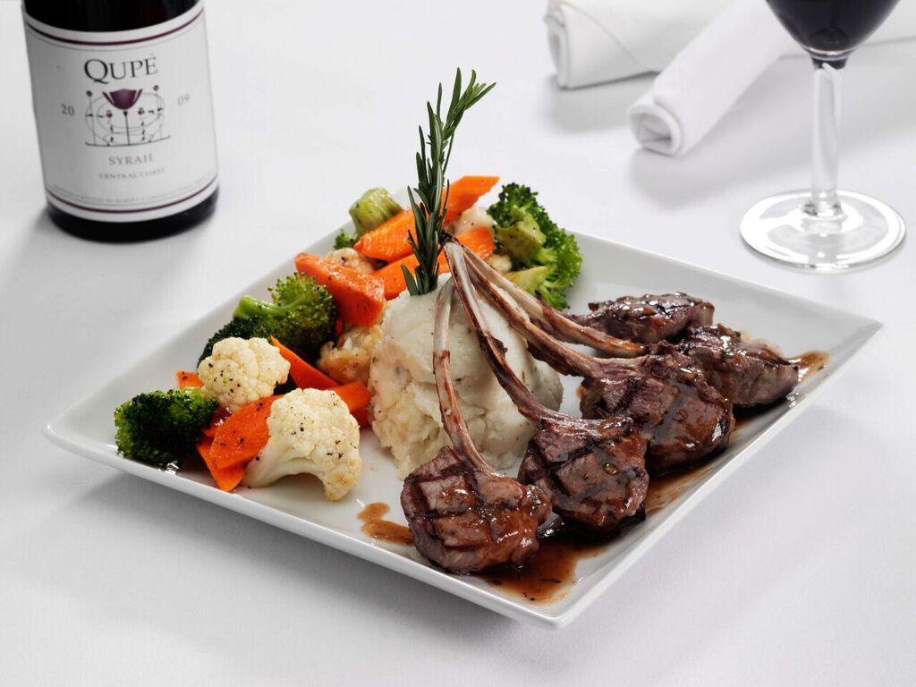 Osteria IL Centro Lamb Chops Best