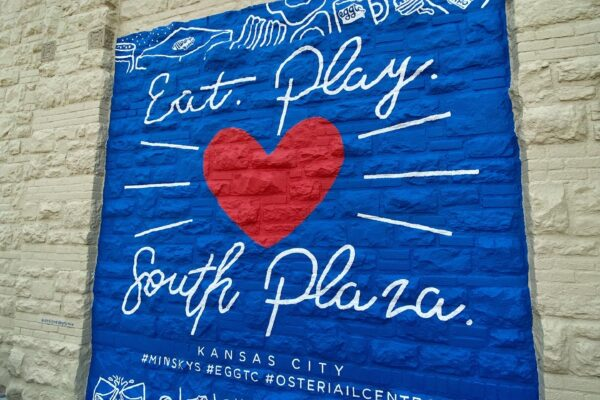 New South Plaza Mural by Ruthie Ozonoff