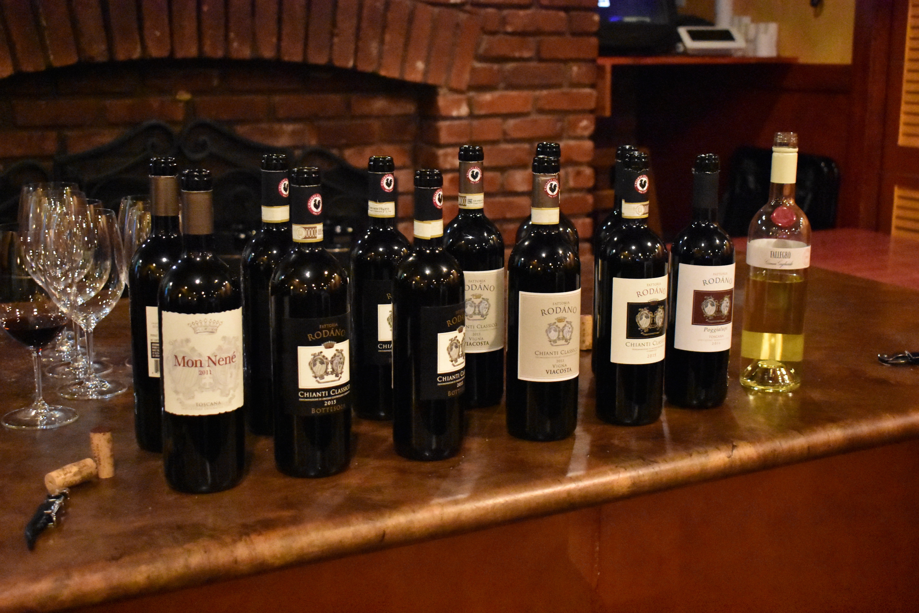 OIC Proudly Hosts Rodáno Wine Tasting