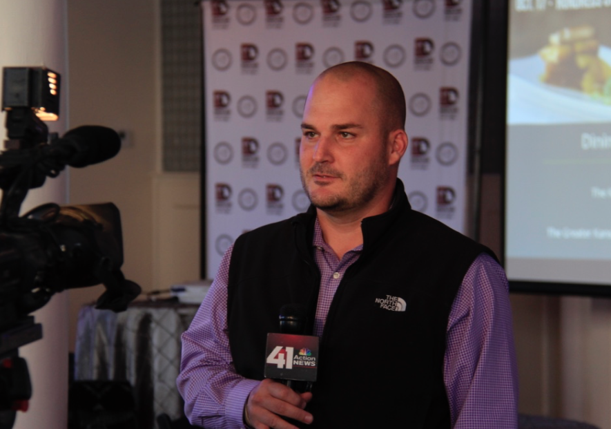 Brent Wittrock of Osteria IL Centro talks with 41 action news about Dining for Heroes