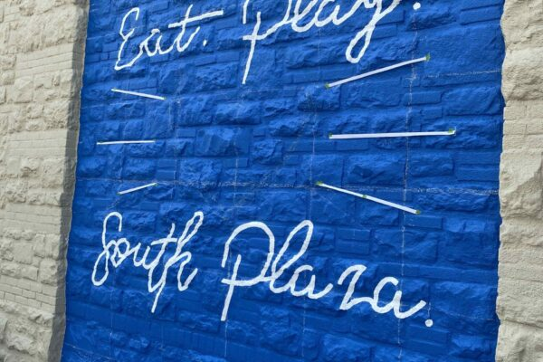 South Plaza Mural Eat Play Rays SP